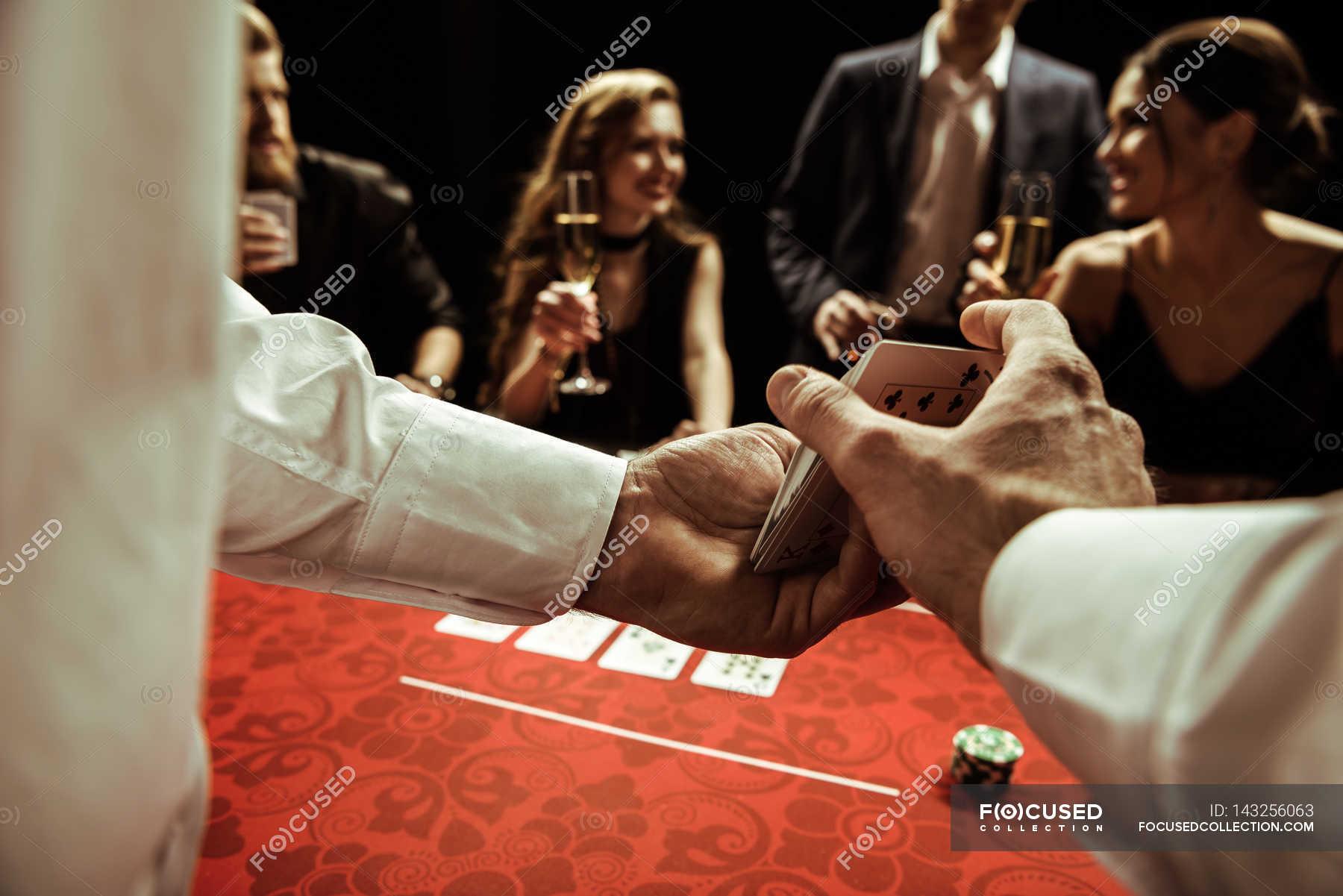letter poker dealer resume