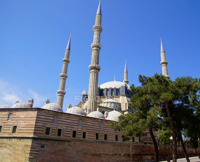 Cupola e minareti della Moschea di Selimiye di Sinan, XVI secolo, a Edirne, Turchia — Foto stock