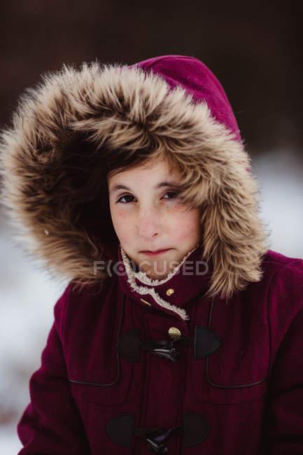 Bella ragazza prims labbra — Foto stock