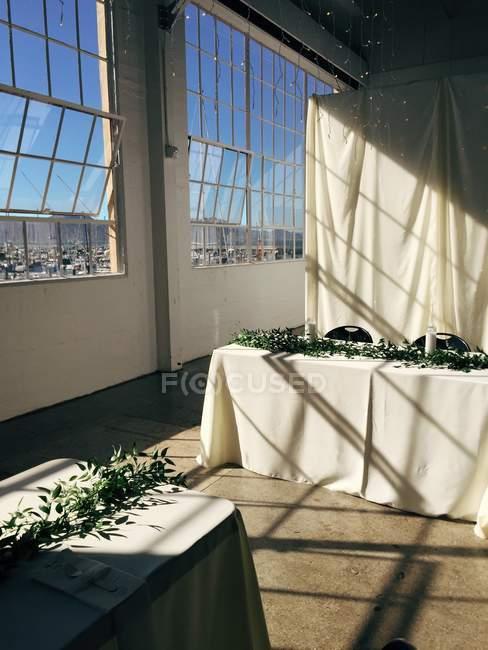 Ein Hochzeitsempfang — Stockfoto