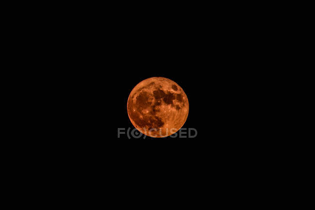 Blood Red Moon — Stock Photo