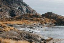 Shore of Loch Coruisk — Stock Photo
