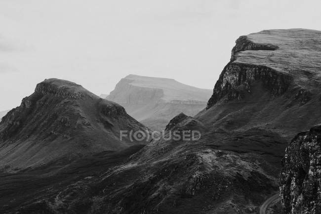 Montanhosa isolada — Fotografia de Stock