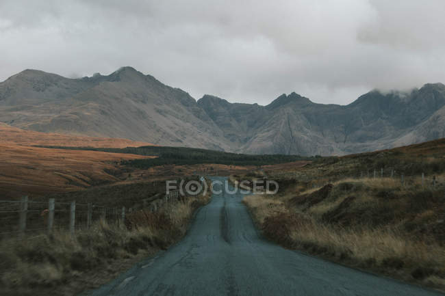 Route à l'île de Skye — Photo de stock