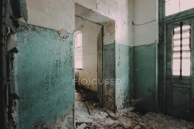 Ospedale abbandonato di Beelitz Heilstatten — Foto stock