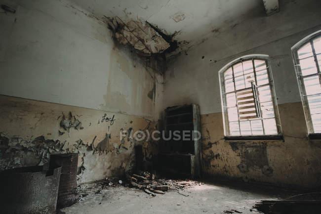 Abandoned Beelitz Heilstatten hospital — Stock Photo