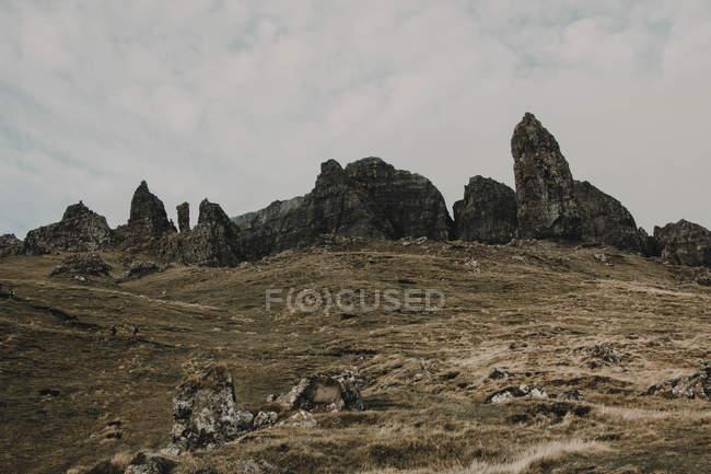 Old Man of Storr en Écosse — Photo de stock