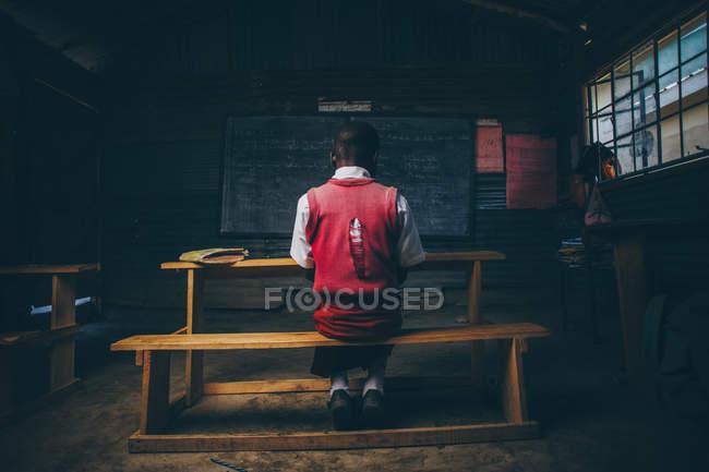 Fille africaine Simard Eduaction Centre — Photo de stock
