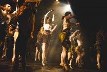 Aufführung auf der Bühne in Universität von Edinburgh — Stockfoto