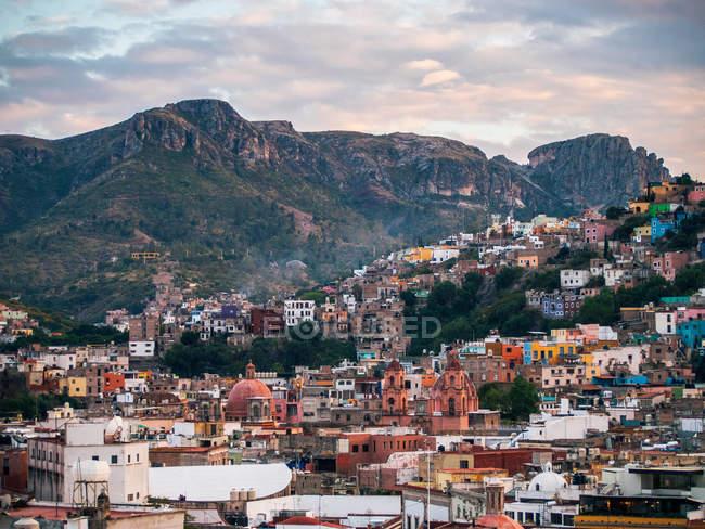 Перегляд Гуанахуато, Мексика — стокове фото