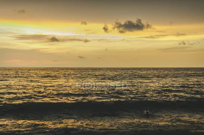 Тихий океан горизонт — стоковое фото