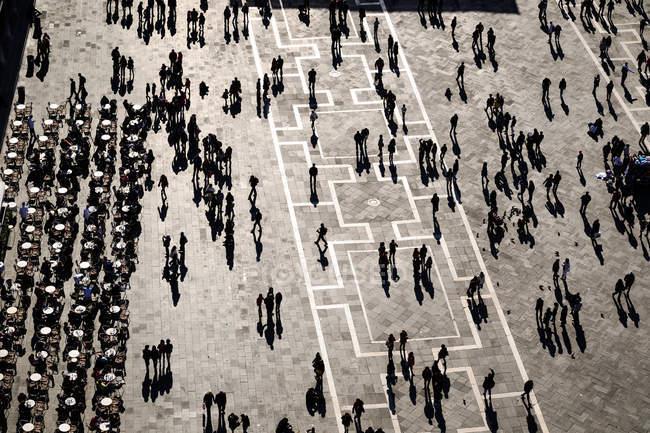 Piazza San Marco, Veneza — Fotografia de Stock
