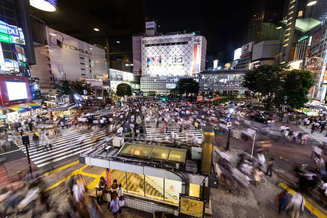 Centrale de Shibuya squre — Photo de stock