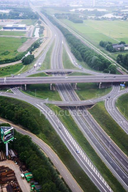 Транспортная развязка в Винкебруге — стоковое фото