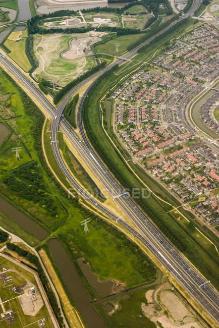 Transporte em Beverwijk — Fotografia de Stock