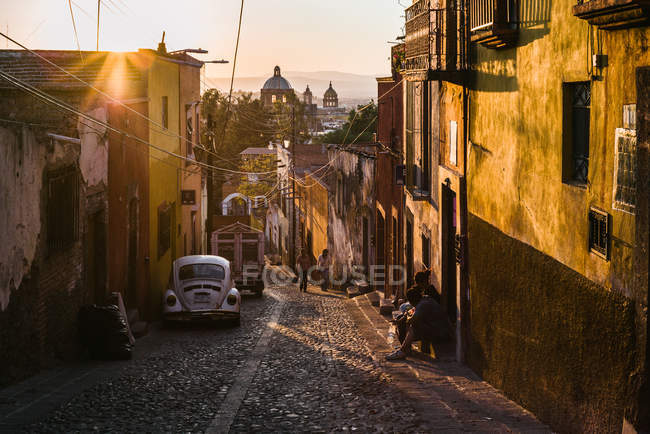 Місцеві мексиканському Tecolote Street — стокове фото