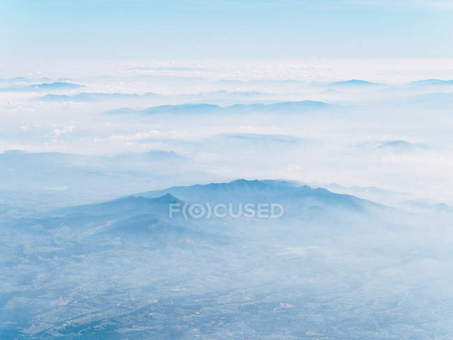Aerial image of Central Mexico — Stock Photo
