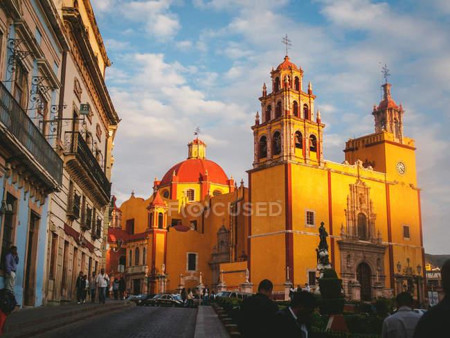 Перегляд Церква Богоматері Гуанахуато — стокове фото