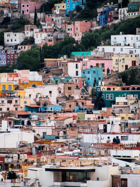 Будинків у Гуанахуато, Мексика — стокове фото