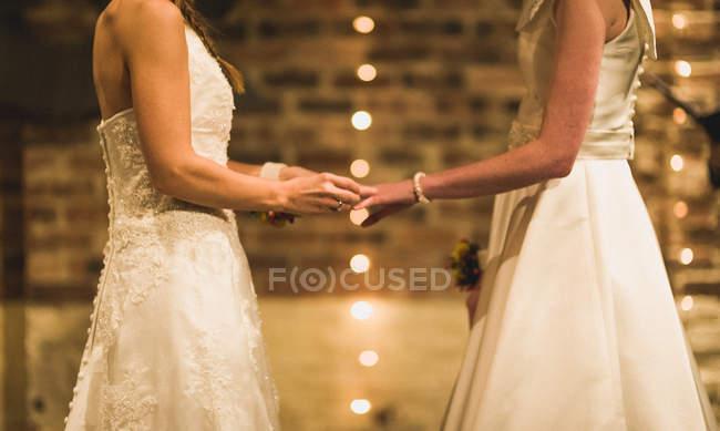 Wedding of gay couple — Stock Photo