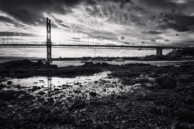 Ponte portão dourado — Fotografia de Stock
