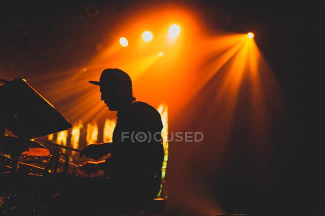 Bonobo, set ao vivo da banda completa — Fotografia de Stock