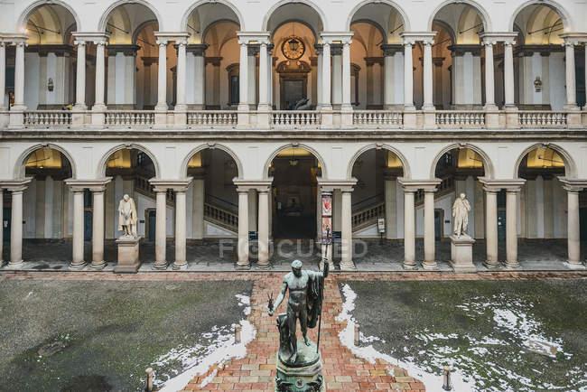 Художественная галерея Brera — стоковое фото
