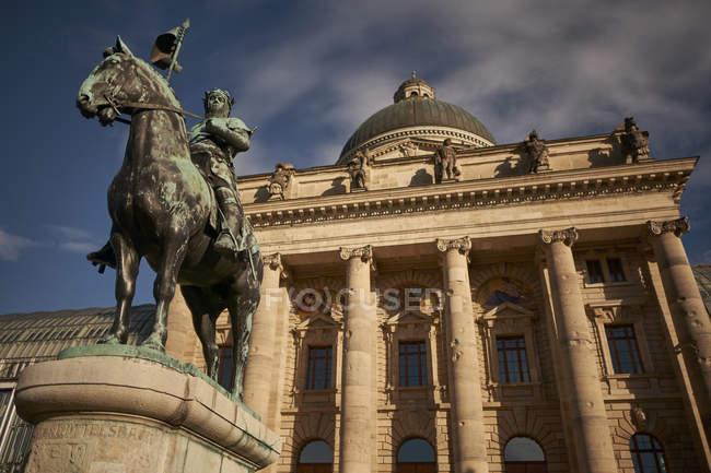 Ehemalige Bayerische Armeemuseum, München, Deutschland — Stockfoto
