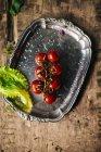 Букет з помідорів чері із салату — стокове фото