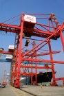 Vue du port de Shanghai — Photo de stock