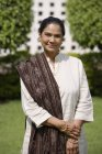 Retrato de mujer India - foto de stock