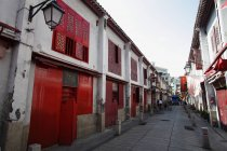 Вулиці з старого невеликі будівлі — стокове фото
