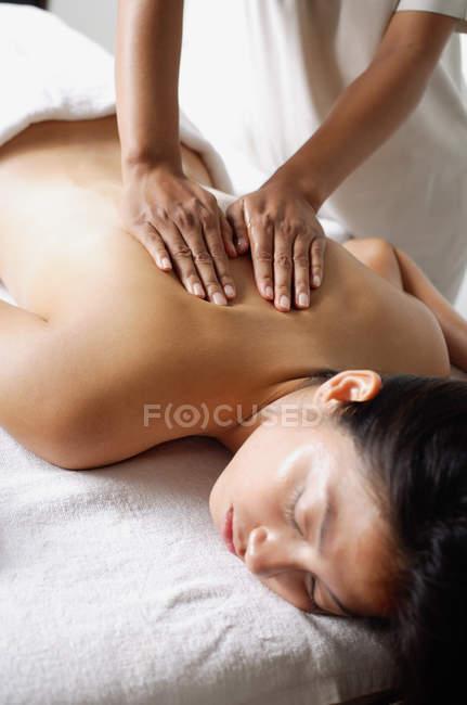 Procédé de traitement spa — Photo de stock