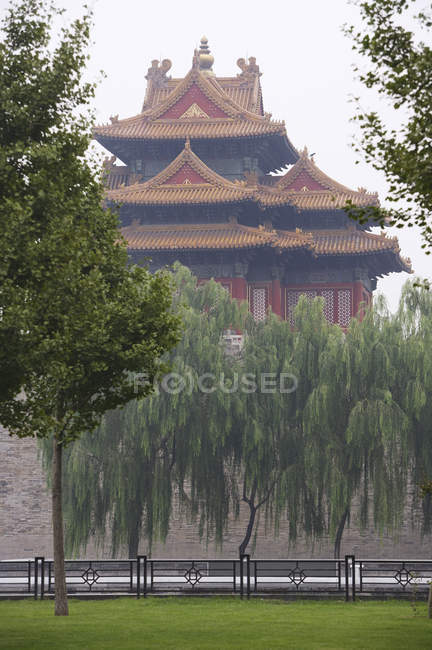 View of The Forbidden City — Stock Photo