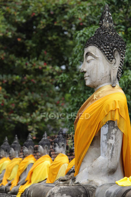 Buddha di pietra, Thailandia — Foto stock