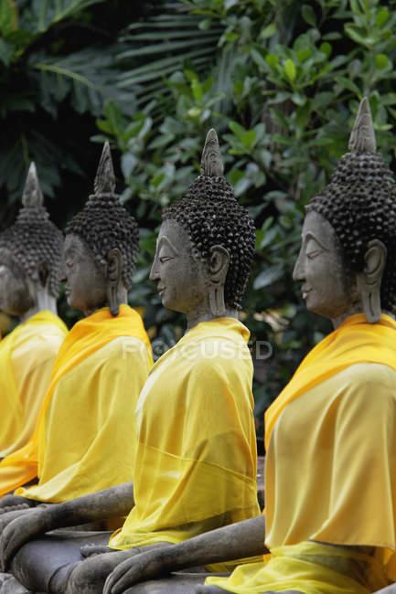 Buddha al tempio, Tailandia — Foto stock