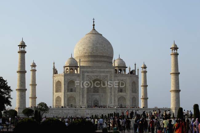 Taj Mahal, Índia — Fotografia de Stock