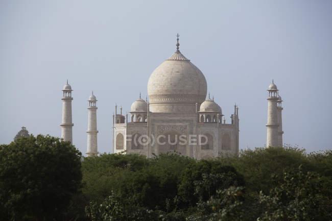 Taj mahal, india — Foto stock