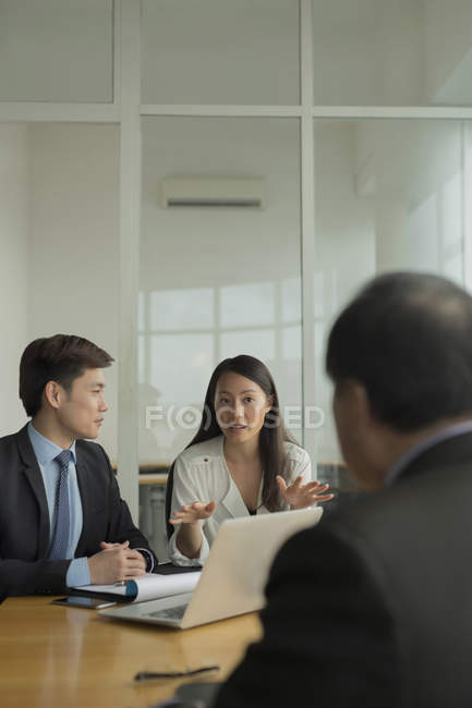 People during business meeting — Stock Photo