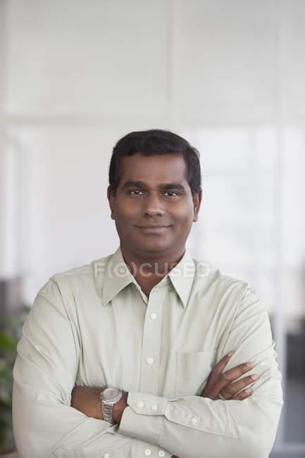 Etnia indiana Empresário — Fotografia de Stock