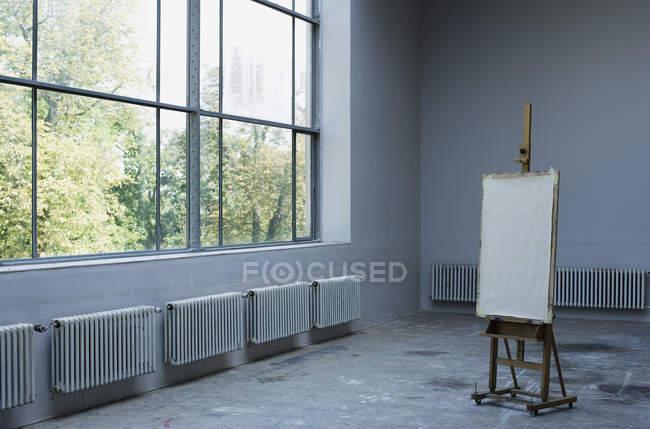 Interior of Art studio — Stock Photo