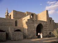 Courtyard of Mamluke Fort — Stock Photo