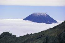 Спостерігаючи вид на гори Ngauruhoe — стокове фото