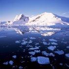 Costa del oeste, Península Antártica - foto de stock