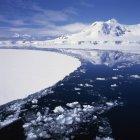 Côte ouest de la péninsule Antarctique — Photo de stock