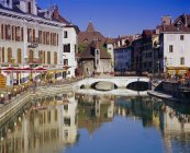 Observing view of Annecy — Stock Photo