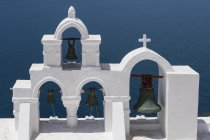 Church bells, Oia, Santorini — Stock Photo