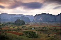 Observing view of Vinales Valley — Stock Photo