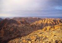 Mt Sinai, Sinai Desert — Stock Photo