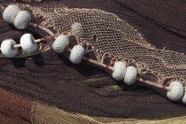 Redes de pesca, de cerca - foto de stock